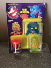 Vintage Kenner 1986 The Real Ghostbusters MINI GOOPERS - Brand New Sealed!!