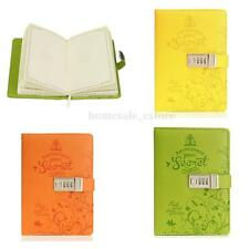 Leather Business Diaries Journal Notebook Secret Diary With Password Lock