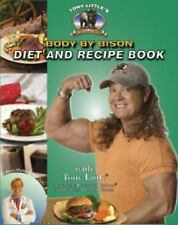 Tony Little's Body By Bison Diet and Recipe Book-ExLibrary