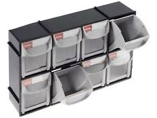 Set Of 8 Storage Drawers In Cabinet Ideal For Crafts Garage Shed Small Parts