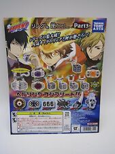 Katekyo Hitman Reborn Ring & Box Charm Collection P3 Toy Machine Paper Card