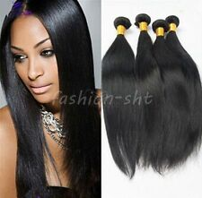 "3 Bundles 18"" Remy Virgin Brazilian Straight Human Hair Weave Extensions 150g"