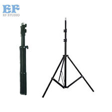 Light Stand Collapsible 280cm/9.2ft Flash Stand Support Tripod for Umbrella Soft