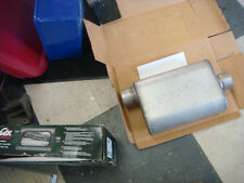 "BNIB DYNO MAX PERFORMANCE MUFFLERS # 17221  OFFSET / CENTERED  3"" INLETS & OUTLE"