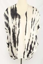 Cabi Size S #137 Abstract Print Silk Sleeveless Top 647 L516