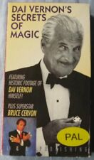 Bruce Cervon presents Dai Vernon's Secrets Of Magic (VHS, PAL)