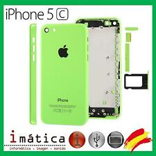 CHASIS IPHONE 5C CARCASA COMPLETA MARCO TAPA TRASERA APPLE VERDE GREEN CHASSIS