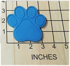 Dog Puppy Paw Print Shaped Fondant Cookie Cutter and Stamp #1158
