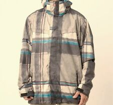QUIKSILVER Men's LAST MISSION Prints Snow Jacket - SMO - Mwdium - NWT - Reg $260