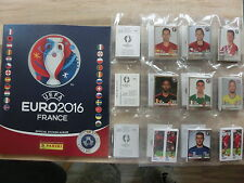 PANINI EURO 2016 EM 16 STAR EDITION SWISS KOMPLETTSET COMPLETE SET*EMPTY ALBUM