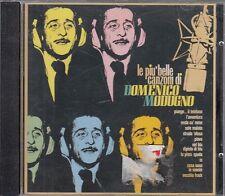 CD- LE PIU' BELLE CANZONI DI DOMENICO MODUGNO ---- CAROSELLO 3005202 --- ZCD1