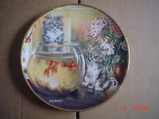 Lovely Franklin Mint Collectors Plate CAT TALES Cat Kitten