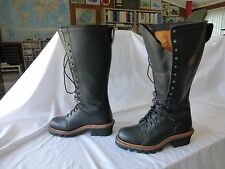 """Men's 18"""" Chippewa Lineman Boots - 9 1/2 M (D)"""
