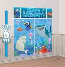 Finding Dory Scene Setter Wall Poster Decorating Kit Birthday Party Supplies 5pc
