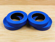 "4 PROFESSIONAL GRADE 1"" Blue Painters Masking Trim Edge Tape 180' 60 yd roll"