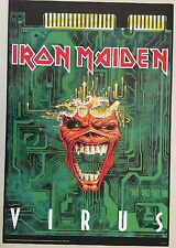 IRON MAIDEN,VIRUS, RARE, AUTHENTIC,OFFICIAL, 1996 POSTER