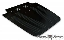 Poison Spyder Vented Hood Louver - Black Powdercoat for 97-02 Jeep Wrangler TJ