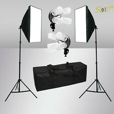 2200W Photo Studio Softbox Lighting Video Soft Box Light Stand Kit Photography