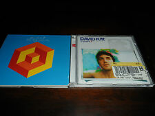 2 David Kitt CDs - Big Romance (2001) and Square 1 Irish singer songwriter