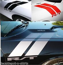 Dodge Challenger 2005 to 2017 Hood, Fender, Side Dual Decal Stripes Graphics