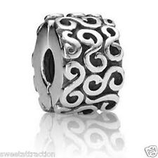 Authentic Pandora 790338 Clip Stopper Bead Box Included