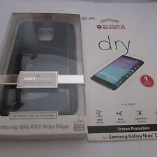 CaseMate POP! Case w' Kickstand  Samsung Galaxy Note Edge Black+Free ZAGG Screen