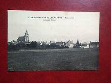 D354. CPA. 45. BAZOCHES LES GALLERANDES. PANORAMA. RECTO VERSO