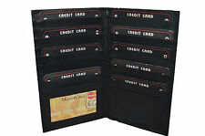 BLACK FRIDAY SPECIAL - Men's Credit Card Holder with 18 credit card slots.