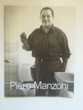 PIERO MANZONI, Exhibition catalogue, Serpentine gallery 1998