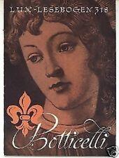 Lux-Lesebogen Botticelli Nr. 318