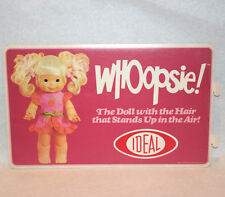 Whoopsie/1970s advertising/Display shelf poster /Ideal toys sign/store flag pos