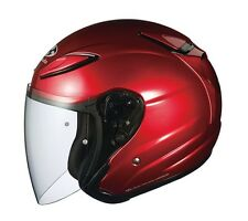 NEW OGK KABUTO AVAND2 Shiny RED L Large  Open Face Helmet Japanese Model