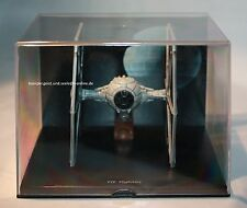 De Agostini-Star Wars-Tie Fighter-Darth Vader-Death Star-Modell-very rare-VG