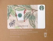 """Starbucks Co-Branded Corporate Gift Card  """"COFFEE BRANCHES"""" Enjoy A Drink On Me!"""