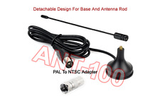 Mini Portable DTV Antenna With Magnetic Base For USB TV Tuner / DTV / DAB Radio