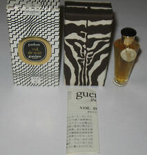Vintage Guerlain Vol De Nuit Perfume Bottle & Box Sealed 1/4 OZ, 7.5 ML, Full