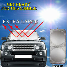 Hot Car Window Sun Shade Jumbo Foldable Cover Windshield Full Shield Visor Block