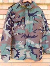 Vintage New Military Alpha Industries Woodland M65 Jacket Camo Coat XS MINTY