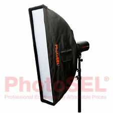PhotoSEL SBSR3X14 35 x 140cm Strip Softbox Bowens S Type Speed Ring Studio Flash