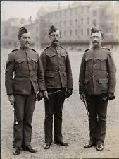 c.1890's PHOTO  - ARMY REGIMENT UNIFORM NW CANADA MILITARY POLICE