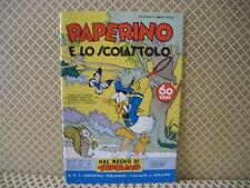 Paperino e lo scoiattolo -Nel regno di Topolino-  Albo n. 59 - 25-5-1938 (AB0)