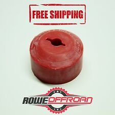 ATV UTV Winch Fairlead Saver Rubber Line Stopper for Synthetic Rope - RED