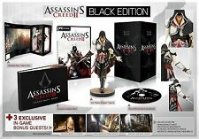 Assassins Creed II Edición Negra para PC por Ubisoft, de 2009, fantasía, Sellado