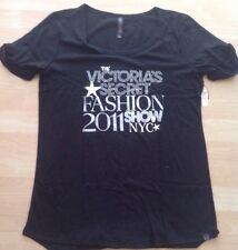 Victorias Secret 2011 FASHION SHOW BLING TEE SIZE SMALL-NEW