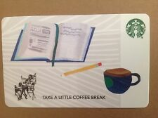 "STARBUCKS CARD CORPORATE / CO-BRANDED /  ""EDUCATION-OPEN BOOK"". COLLECTABLE"