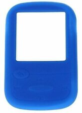 Silicone Skin Case Cover for SanDisk Sansa Clip Sport MP3 Player - Blue