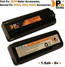 2 x batteries de rechange 1.5ah (pro-series) pour paslode im350/350+/0029-2