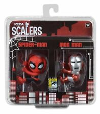 NECA 2014 SDCC COMIC CON SCALERS SPIDER-MAN & IRON MAN NEW 14521