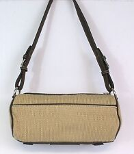 The Sak Tan and Brown Knit Easy Carry Shoulder Bag Beautiful Great small Purse