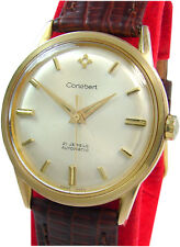 Cortebert vintage Automatic pulsera caballero reloj 21 Jewels swiss made mens Watch
